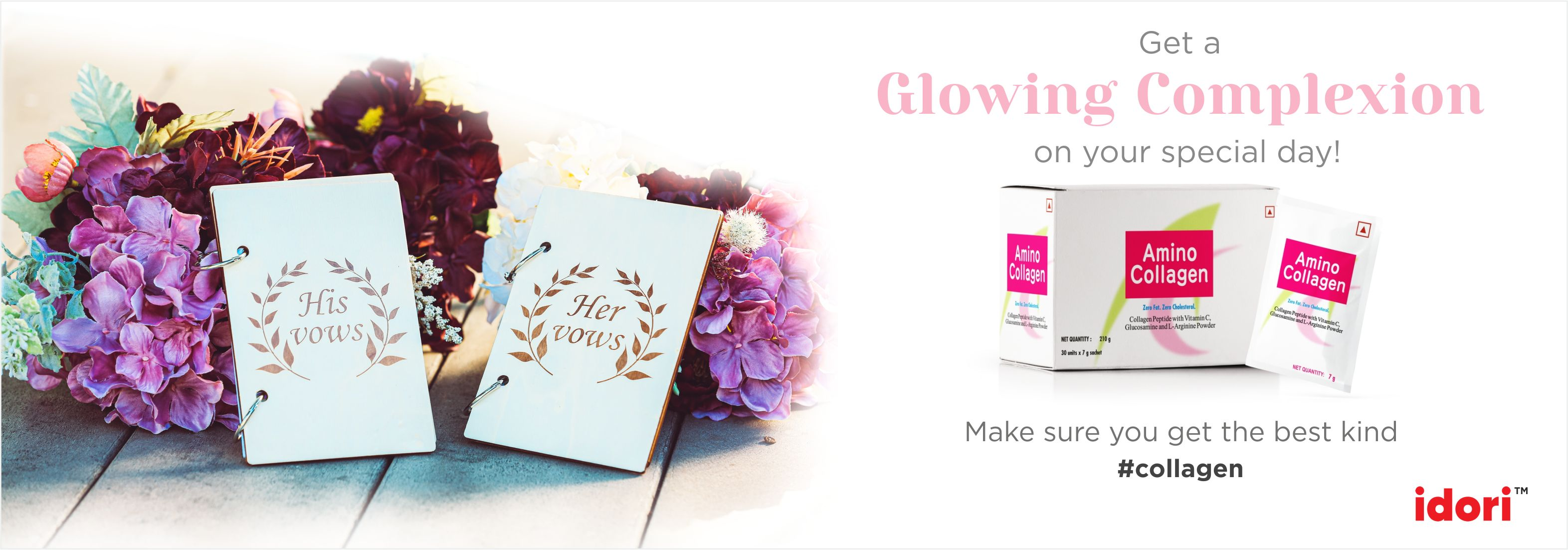 Add a Spoon of Amino Collagen to your food and see the Difference